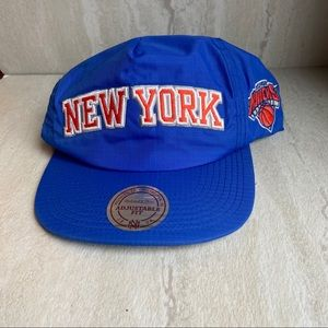 New York knicks Mitchell and ness cap hat blue